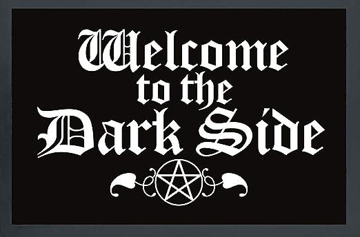 Felpudo Welcome to The Dark Side de Polipropileno