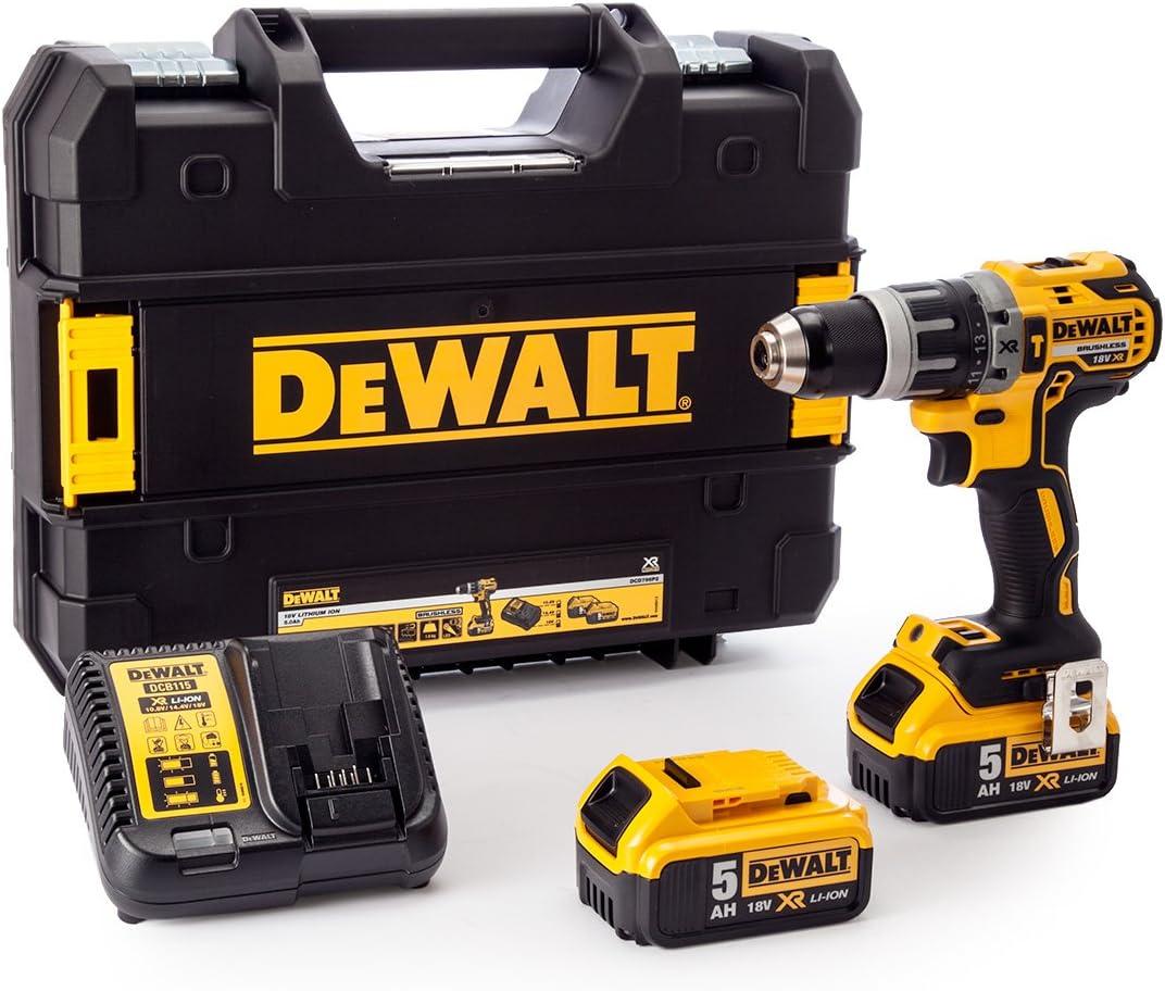 Dewalt DCD796P2 Combi Drill 18V XR Brushless Compact Lithium