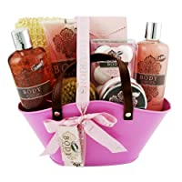 Gloss! Coffret cadeau coffret de bain format panier collection Body Luxurious parfum Grenade - 13pcs