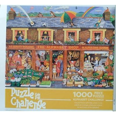 Puzzle Challenge Gale Pitt Alphabet Shop: Toys & Games