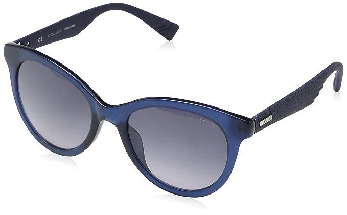 Police Sparkle 2 Gafas de sol, Azul (Shiny Opaline Blue), 46 ...