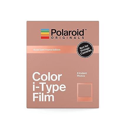 ce4b5cb2032 Amazon.com   Polaroid Originals Instant Color Film i-Type - Rose Gold  Edition (4832)   Camera   Photo