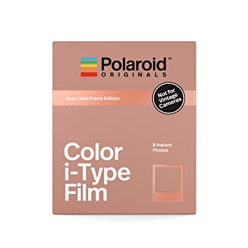 Amazon.com   Polaroid Originals Instant Color Film i-Type - Rose Gold  Edition (4832)   Camera   Photo c68553d11f57