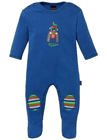 51e592f9a4 Schiesser Jungen Zweiteiliger Schlafanzug Baby Anzug mit Fuß: Amazon.de:  Bekleidung