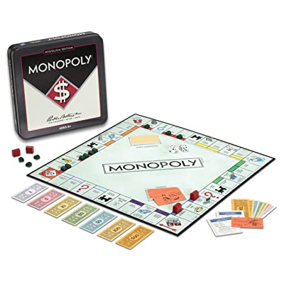 Winning Solutions Monopoly Nostalgia Tin Board Games: Toys & Games