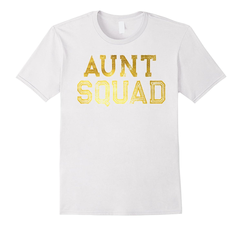 Aunt Squad Gold T-shirt-TJ