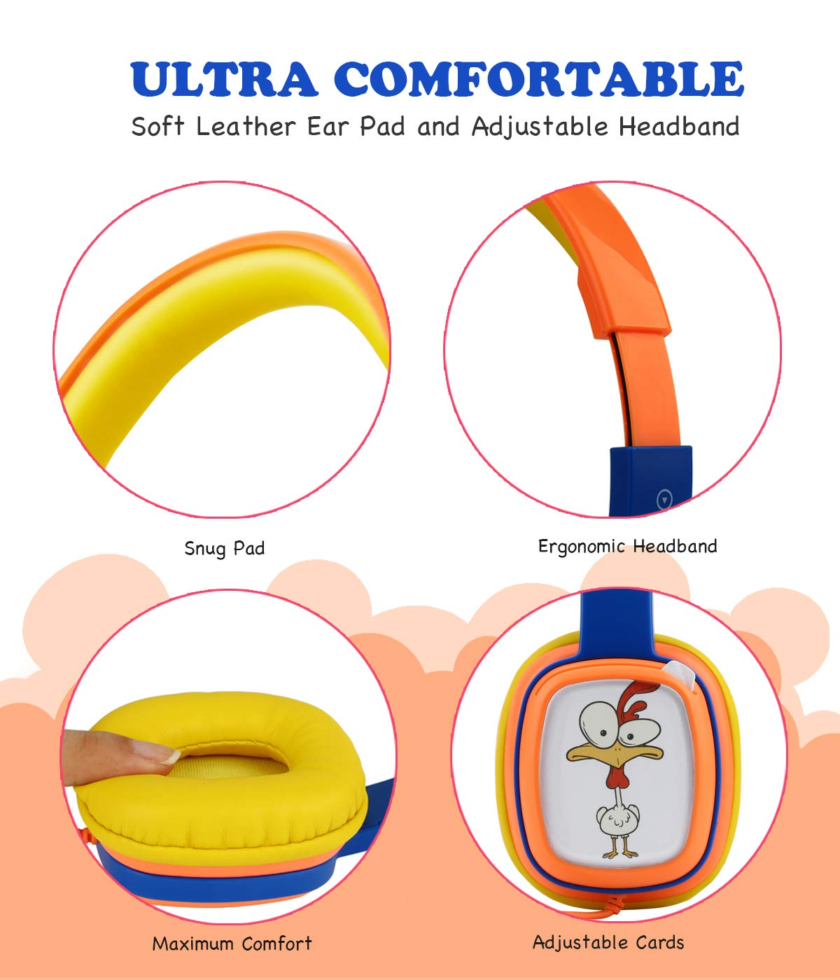 oneodio Auriculares infantiles