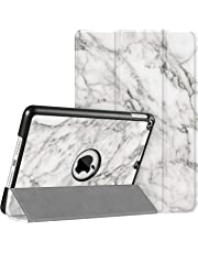 """FINTIE SlimShell Case for iPad mini 5th Gen 7.9"""" 2019 – Super Thin Lightweight Stand Protective Cover with Auto Sleep/Wake Feature for 2019 New iPad mini 5, Marble White"""