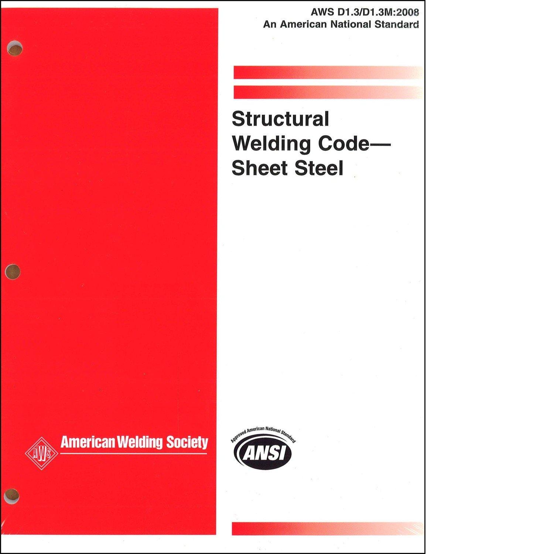 Aws d13d1 structural welding code sheet steel 9780871710765 aws d13d1 structural welding code sheet steel 9780871710765 amazon books biocorpaavc Images