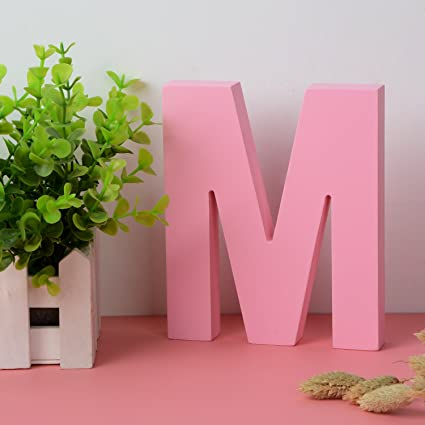 decorative wood letters m hanging wall 26 letters wooden alphabet wall letter for children baby name