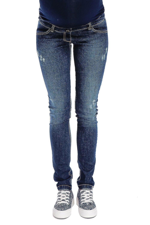 Pantaloni Premaman Jeans Demi navyblu Abbigliamento Premaman MY TUMMY ®©™ Donna Maternità Pantaloni