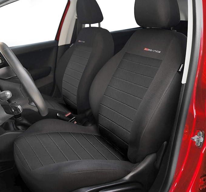 Fiat Panda Universal 1+1 Front Rot Sitzbezüge Sitzbezug Schonbezüge Elegance