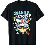 Funny Shark Crisp Cereal Breakfast Cornflakes Cereals Fish T-Shirt