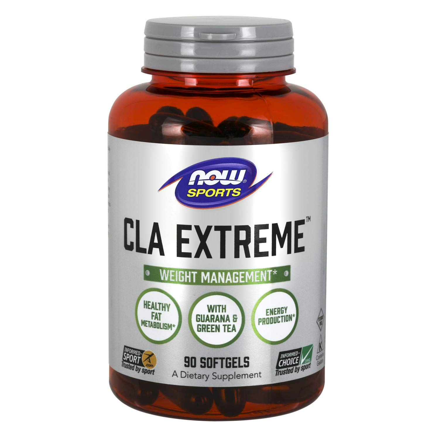 NOW Sports Nutrition, CLA Extreme (Conjugated Linoleic Acid), 90 Softgels