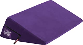 product image for Wedge Plus Size, Purple Microfiber