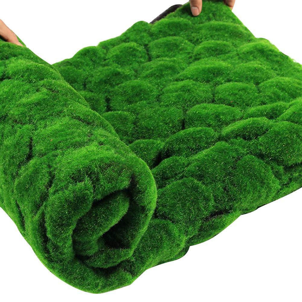 c/ésped de Astro Garden natural y realista alfombra de c/ésped de musgo artificial C/ésped artificial 1m x 1m micro paisajes de bricolaje decoraci/ón de la pared c/ésped falso de alta densidad