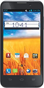 ZTE Z998 Unlocked GSM 4G LTE Dual-Core Android 4.1 Smartphone - Black