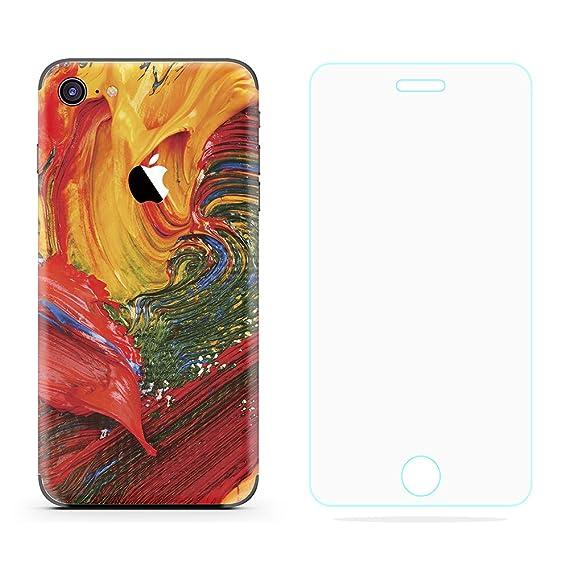 Amazon LeeVan Creative Color Ultra Thin Sticker IPhone