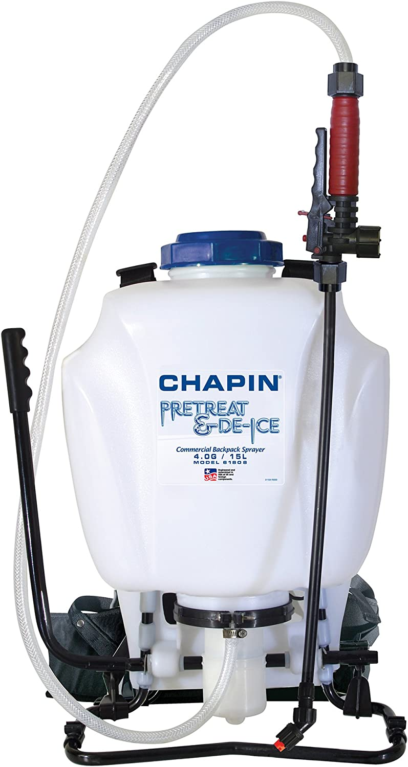 Chapin 61808 4-Gallon Pre-Treat and Ice Melt Backpack Sprayer