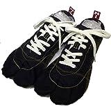 ランニング足袋 無敵 MUTEKI きねや足袋 シューズ 足袋 ジョギング 黒 ブラック たび ランニング 足袋スニーカー 素足 tabi ローカット スポーツ 運動 杵屋足袋 足袋シューズ 軽い 軽量 靴 男性 メンズ