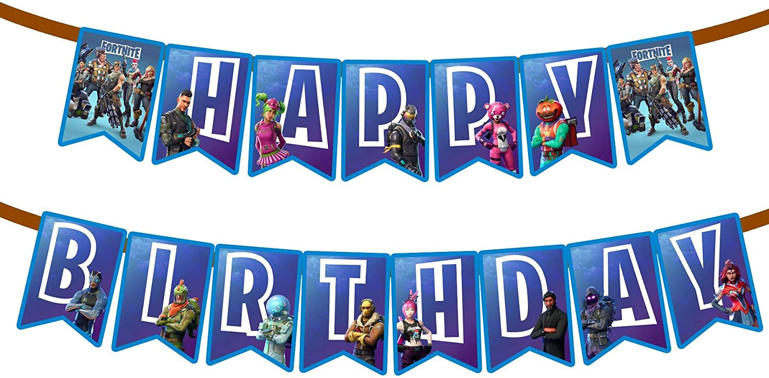 Party Trends Personalised Age Foil Birthday Celebration Banner 3 Banners Numbers