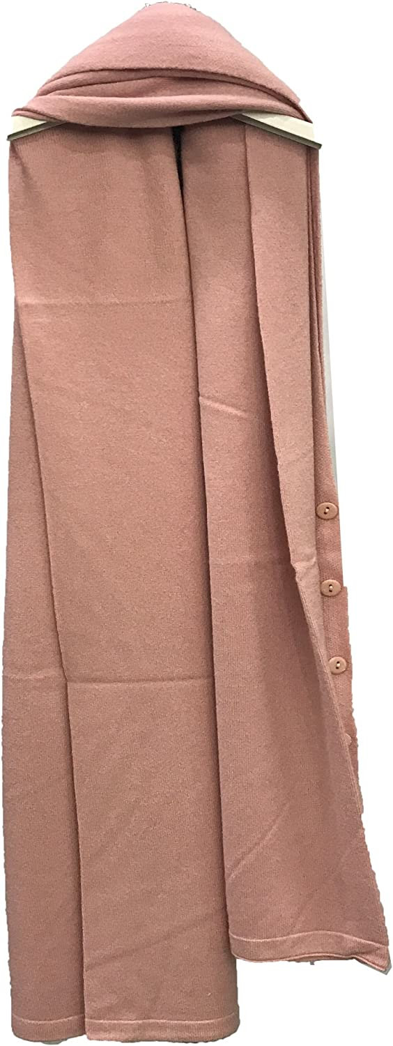 New Women Ladies Cashmere Poncho Wrap Buttoned Shawls Cardigan Blended Yarns One Size UK 10-28
