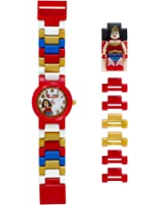 Montre figurine Wonder Woman de LEGO DC Comics Super Heroes 8020271 pour enfant à construire