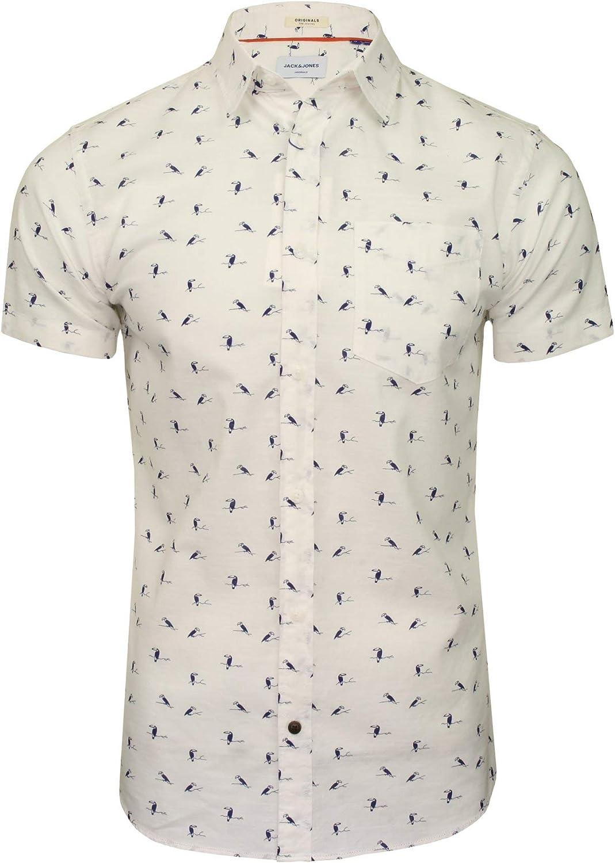 Jack & Jones Camisa Manga Corta JORHEX Shirt SS para Hombre Hombre: Amazon.es: Ropa y accesorios