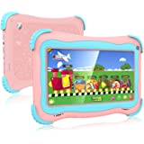 Kids Tablet 7 Android Kids Tablet Toddler Tablet Kids Edition Tablet with WiFi Dual Camera Childrens Tablet 1GB + 16GB…