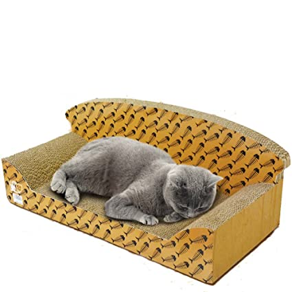 Mrxue Cat Gratta E Vinci Carta Ondulata Cat Gioco Board Cat Lettiera