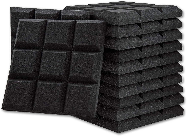 BUBOS 吸音材 消音 騒音 防音 吸音対策 室内装飾 楽器 ウレタンフォーム ウェッジ 吸音材質ポリウレタン