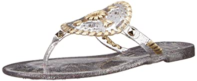 Jack Rogers Sparkle Georgica Jelly Thong Sandals 0TyBdU