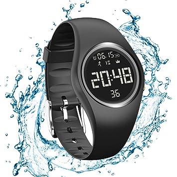Podomètre Bracelet Tracker dactivité Pas de Bluetooth Pas dApplis Compteur de Pas