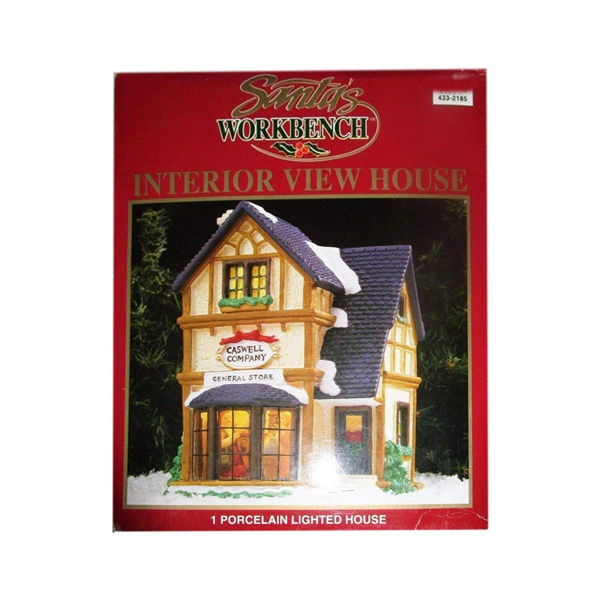 Santa's Workbench 1998 Interior View House Caswell Company General Store 433-2185