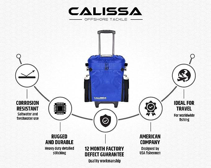 Saber Fishing Tackle 5 Rod Holdall Bag Carp Luggage takes Reel on SL41