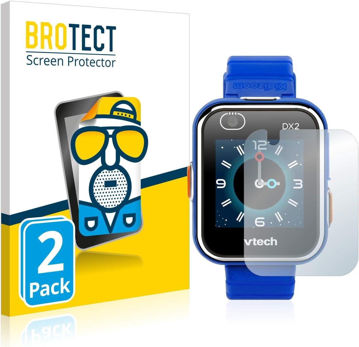 BROTECT Protector Pantalla Anti-Reflejos Compatible con Vtech Kidizoom Smart Watch DX2 (2 Unidades) Pelicula Mate Anti-Huellas