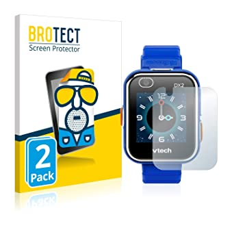 BROTECT Protector Pantalla Mate para Vtech Kidizoom Smart Watch DX2 [2 Unidades] - Anti-Reflejos