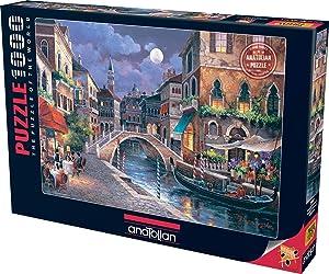 Perre Group Streets of Venize II Jigsaw Puzzle (1000-Piece), Multicolor (3087)