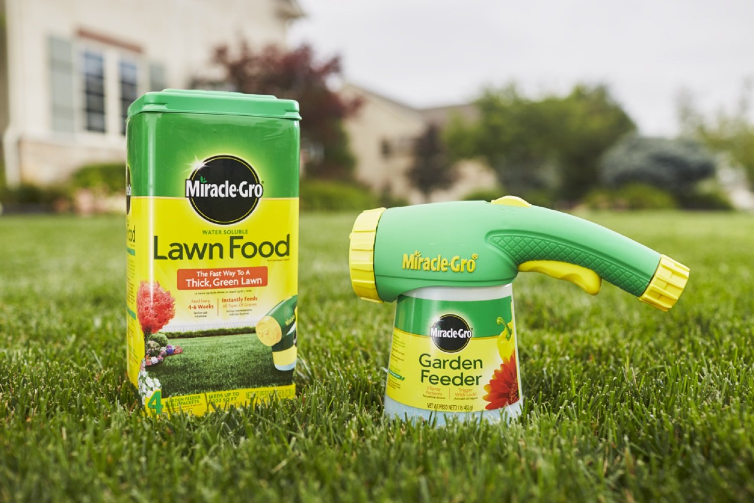 Miracle Gro lawn food best 2020 lawn fertilizer