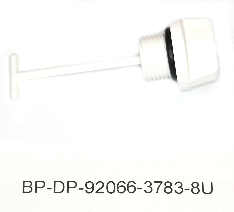 2 Pack White Kawasaki Drain Plug 92066-3783-8u 1100 900 750 STX Zxi Ultra 150 D.i.