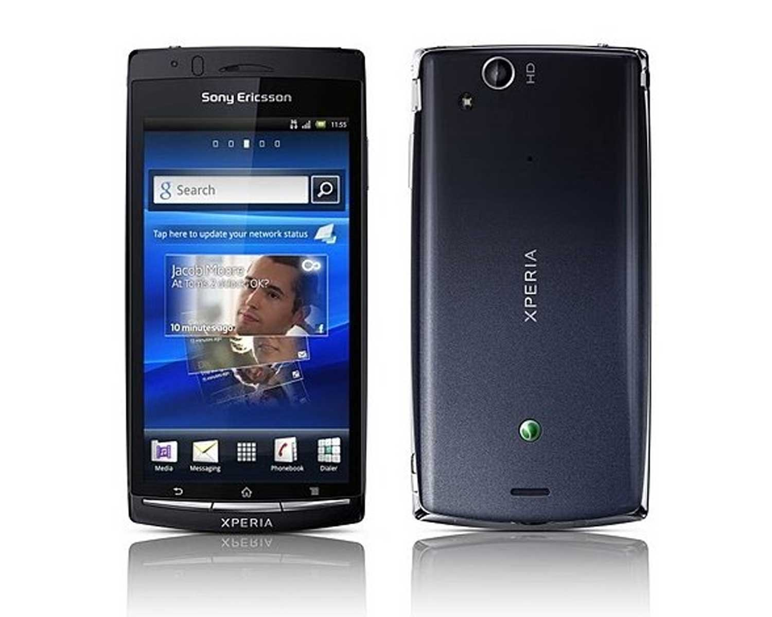 Amazon.com: Sony Ericsson Xperia Arc S / LT18i (BLACK) / Unlocked  International Gsm Phone: Cell Phones & Accessories