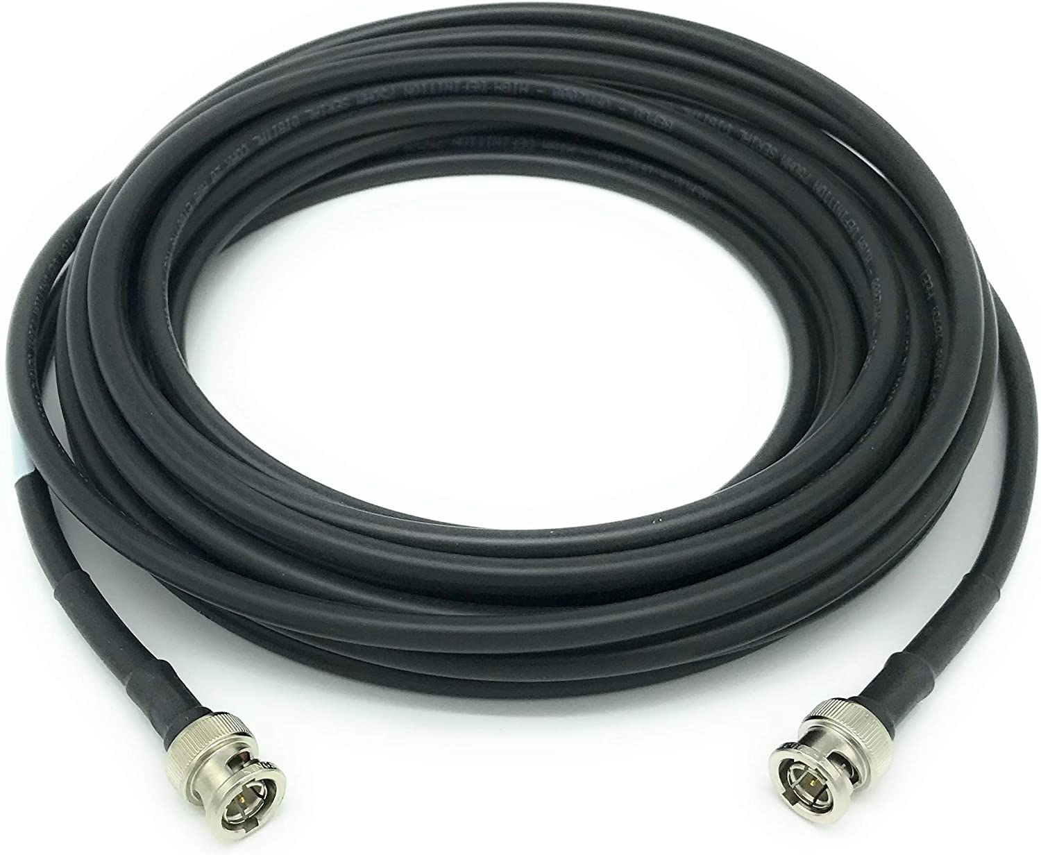 Black BNC RG59 Cable 200ft AV-Cables 3G//6G HD SDI BNC