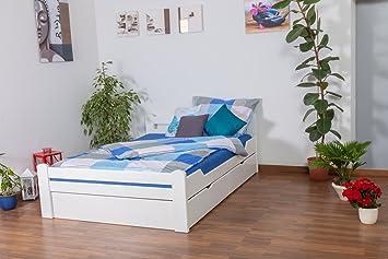"""c80c6cce70 Jugendbett""""Easy Premium Line"""" K4, inkl. 2 Schubladen und 1  Abdeckblende,"""