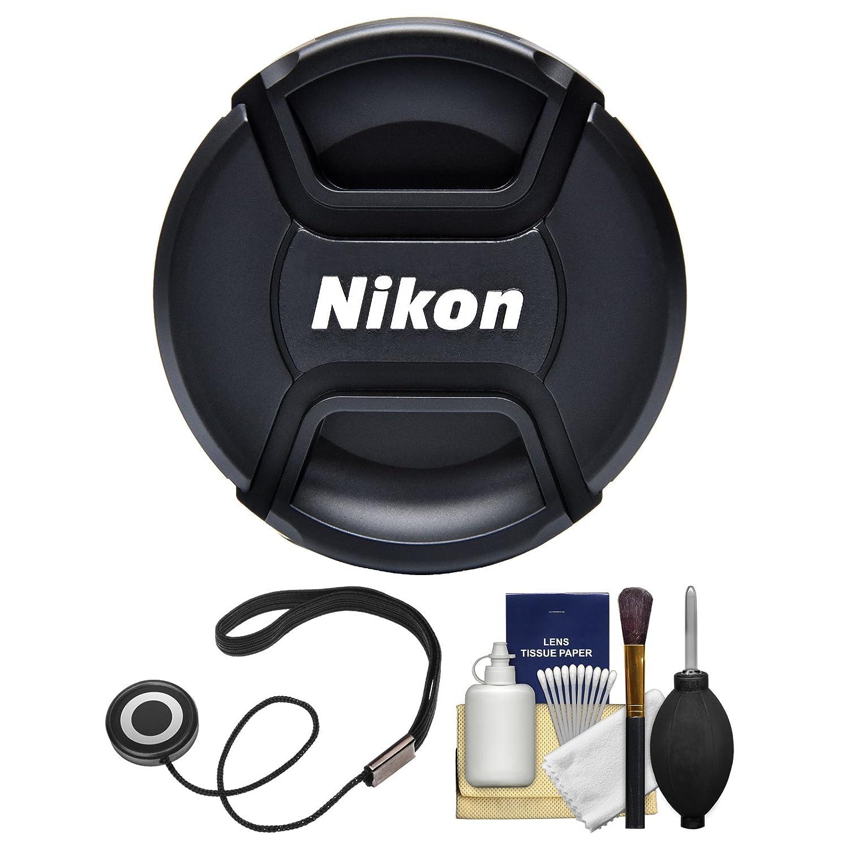 Nikon LC - 67 67 mmスナップオンレンズキャップwith Cap Keeper +レンズクリーニングキット   B01M4LTP3J