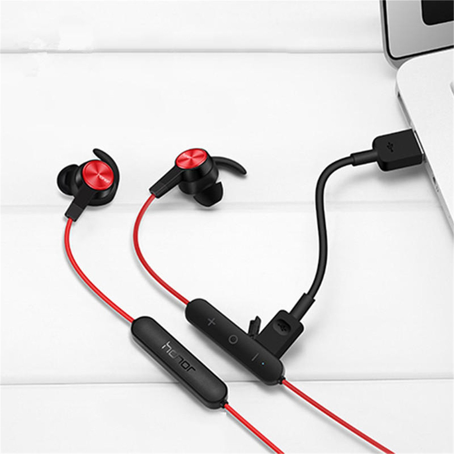 Amazon.com: Original Honor Xsport Bluetooth Earphones AM61 IPX5 Waterproof Music Mic Control Wireless Headset Earbuds For Android Ios black color: Home ...