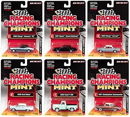 RACING CHAMPIONS MINT 1960 CHEVY CORVAIR SILVER RELEASE 2 FREE SHIPPING