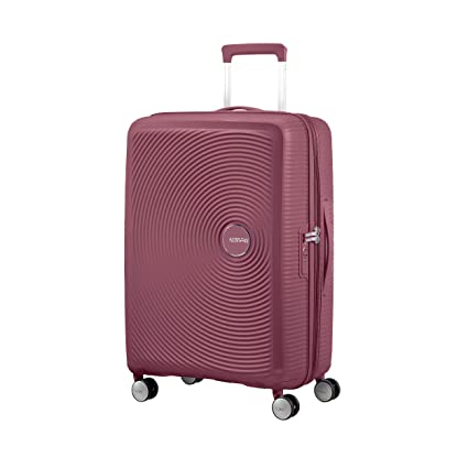 Rainbow Dots White American Tourister Spinner S