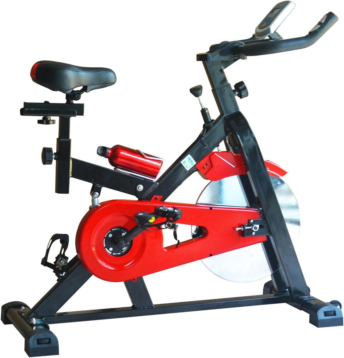 OLYMPIC Indoor Cycling - Bicicletas estáticas y de Spinning para Fitness, Color Blanco: Amazon.es: Deportes y aire libre