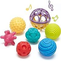 CubicFun Bolas Sensoriales para Bebés Juguetes Bebe 6 Meses a 1 año Multi Textura Pelota Sonajeros Bebe Infantil Pelotas…