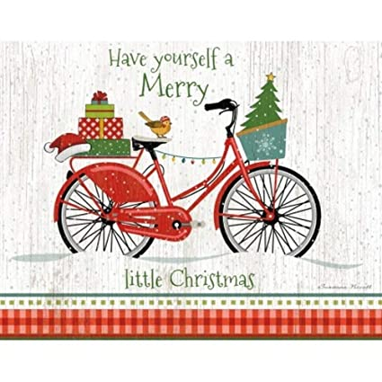 lang christmas bike boxed christmas cards artwork by suzanne nicollquot